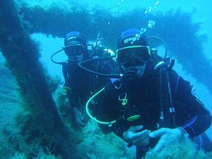 Scuba Diving in Naxos Island Greece