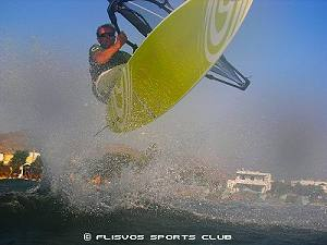 Naxos wind surfing